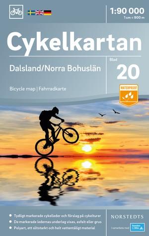 Dalsland / Bohuslän Noord fietskaart