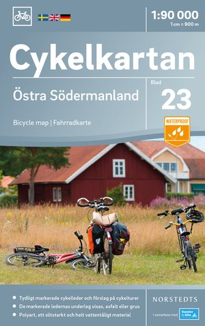 Södermanland Oost fietskaart