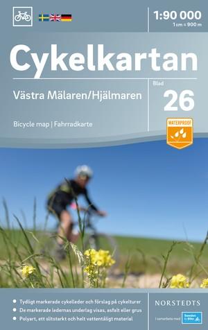 Mälaren West/Hjälmaren fietskaart