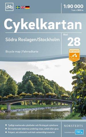 Roslagen Zuid / Stockholm fietskaart