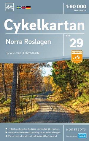 Roslagen Noord fietskaart