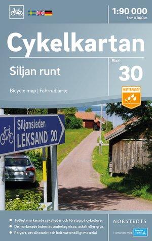 Siljanmeer & omg. 30 fietskaart