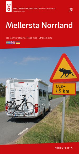 Zweden wegenkaart Noord