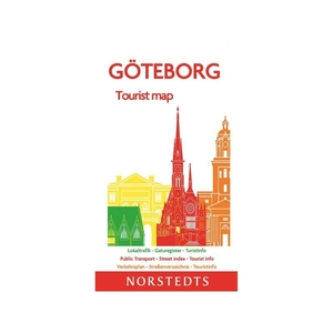 Göteborg tourist map