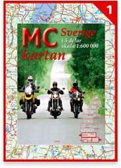 Mc Kartan Sverige 1:600.000 Motorkaart