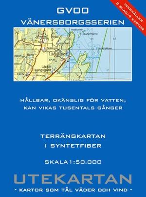 Gv00 Vanersborgsserien Utekartan 1:50.000