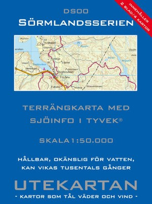 Sormlandsserien Ds00 1:50.000 Utekartan