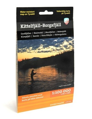 Kittelfjall Borgafjall 1:100.000