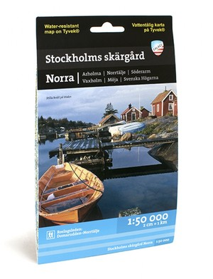 Stockholms Skargard Norra 1:50.000
