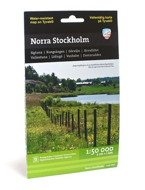 Norra Stockholm 1:50.000