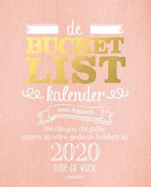 Bucketlist Kalender 2020 voor koppels