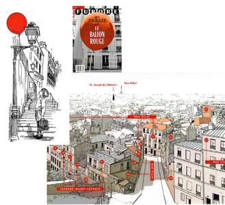 Het Parijs Van Le Ballon Rouge