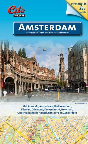 Citoplan stratengids Amsterdam