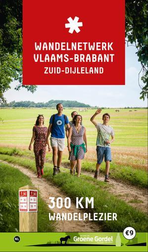Zuid-Dijleland wandelnetwerk krt +infogids 300km wandelpl.