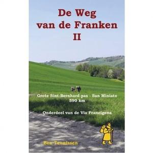 De Weg van de Franken deel 2 Grote Sint-Bernhard-pas - San Miniato 590 km