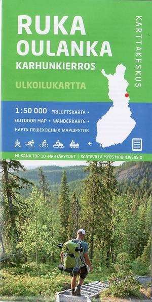 Ruka Oulanka (beartrail) 1:50.000