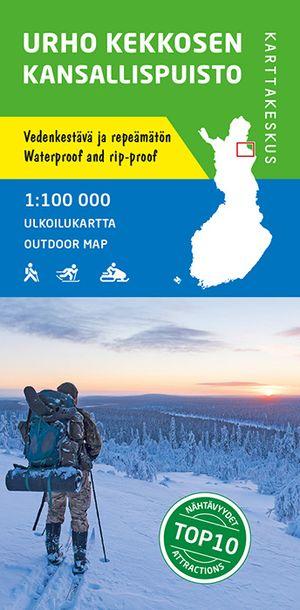 Urhu Kekkonen Outdoormap 1:100 000