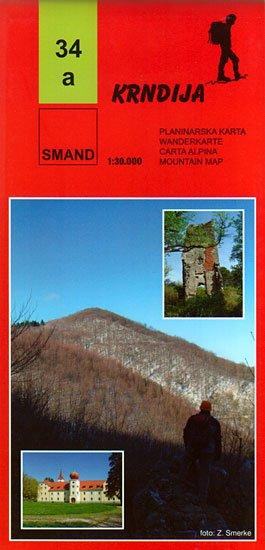 34a Krndija, Slavonske Planine 1:30.000