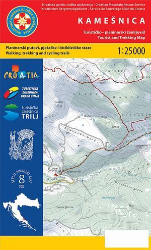 08 Kamesnica 1:25.000 Dinarske Alpe