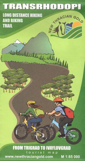 Transrhodopi Wandel en Fietskaart