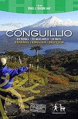Conguillio Chile Trekking Map 1:100d