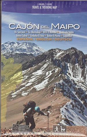 Cajon Del Maipo 1:100d1:50.000 Trekking Map