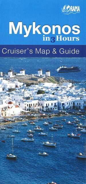 Mykonos in 3 uur - Cruise kaart & gids
