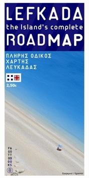 Lefkada Road Map Fagotto 1:50.000