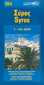 Map Of Syros