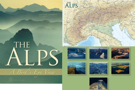 Alps A Birds Eye View Panalp