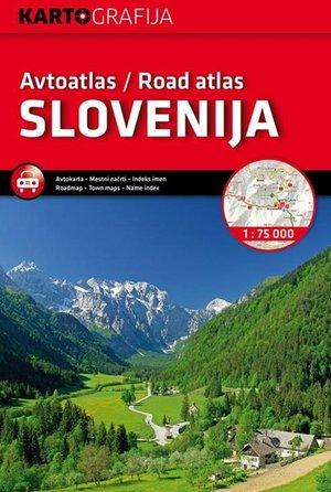 Slovenië wegenatlas