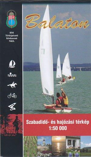 Balaton 1:50.000 Szarvas Waterkaart