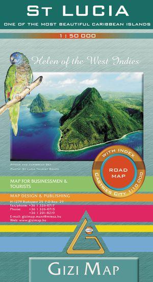 Saint-lucia Road Map