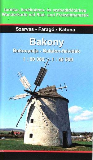 Bakony 1:80k / 1:40k
