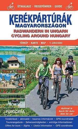 Radwandern In Ungarn 1:250d