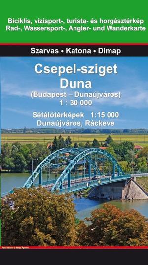 Csepel-sziget Duna 1:30d Szarvas
