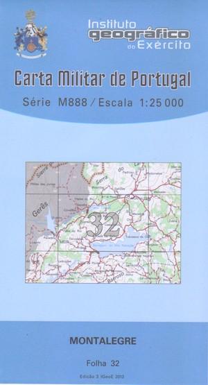 Igeoe 32 Montalegre 1:25.000