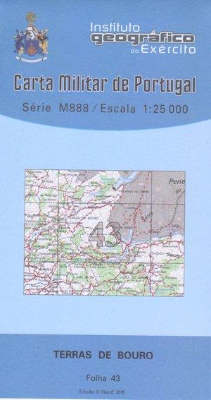 Igeoe 43 Terras De Bouro 1:25.000