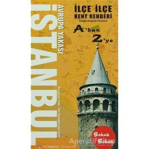 Istanbul  Avrupa Yakasi stratenatlas