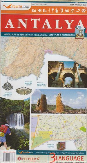 Antalya Touristmap