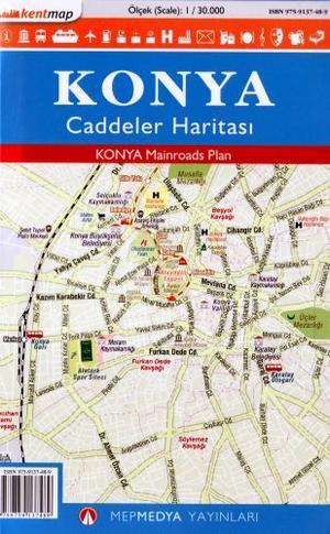 Konya Mainroads 1:30.000