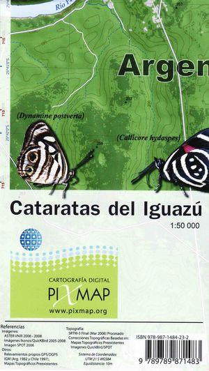 Cataratas Del Iguazu 1:50.000 Pixmap