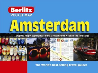 Amsterdam berlitz pocket map