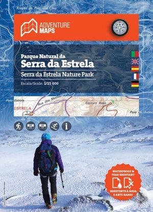 Serra da Estrela 1:25.000 wandelkaart