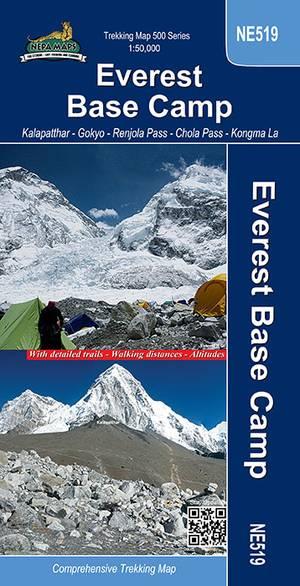 Ne519 Everest Base Camp 1:50.000