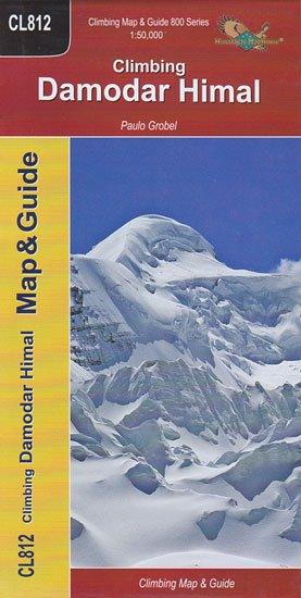 Cl812 Climbing Damodar Himal 1:50.000