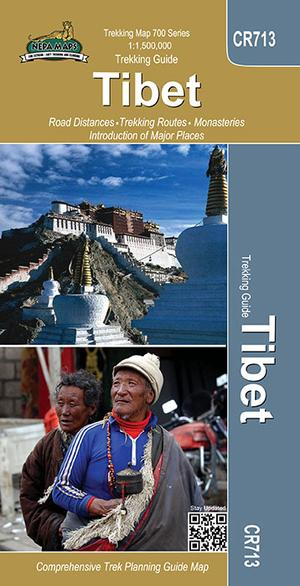 Cr713 Tibet - Trekking Guide (map) 1:400.000