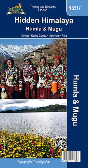 Ns517 Hidden Himalaya 1:90.000 Nepa