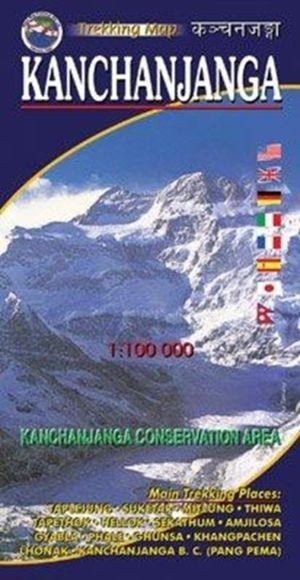 Kanchanjanga 1:100000-map