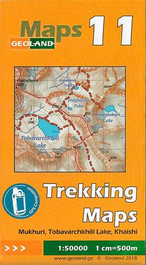 11 Mukhuri, Tobavarchkhili Lake, Khaishi Trekking Map